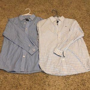 Vineyard Vines kids button down shirts
